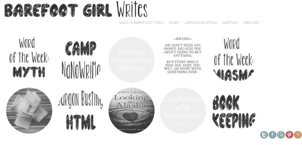 Barefoot Girl Writes