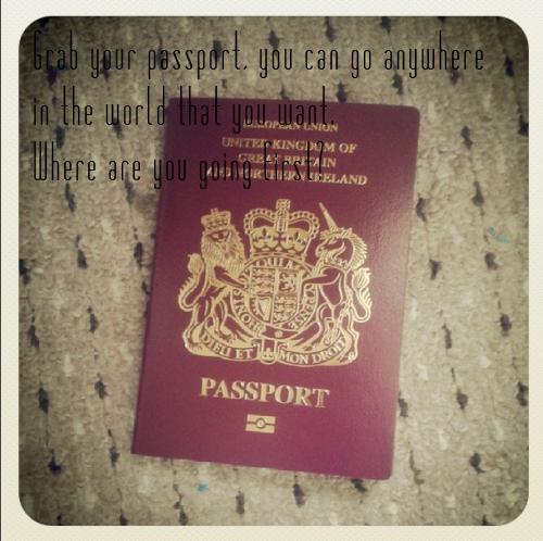 Writing Prompt Passport